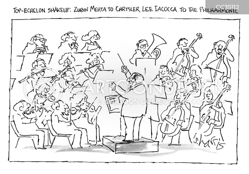 conductor cartoon