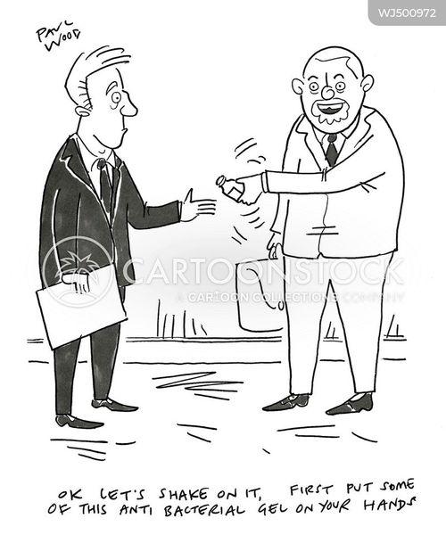 post-corona cartoon