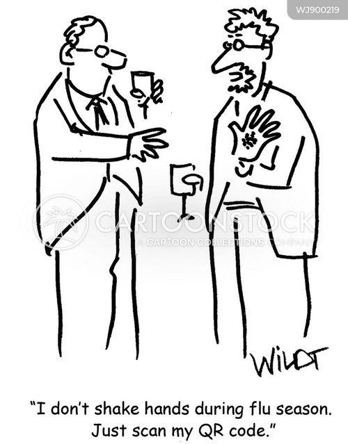 infection cartoon