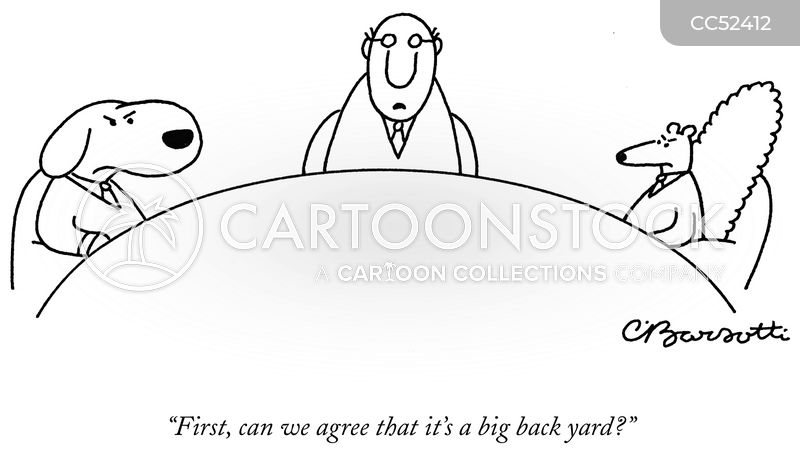 Conflicts cartoon