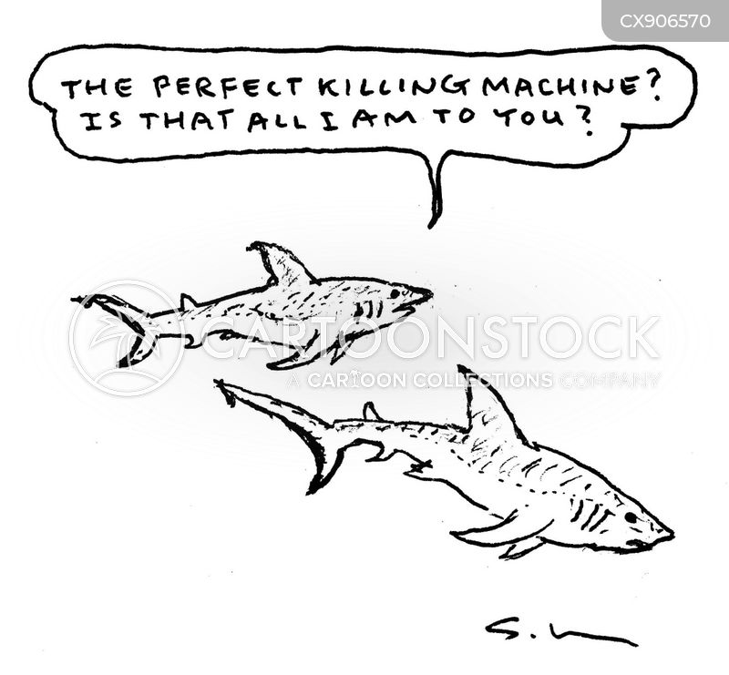 marine biologist cartoon