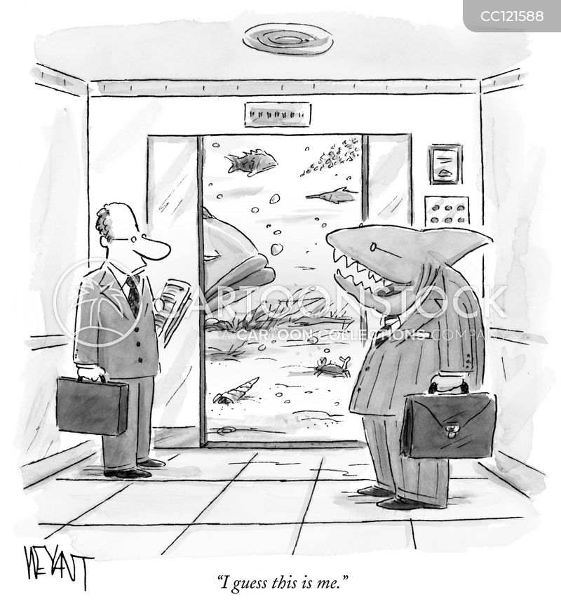 Elevator cartoon