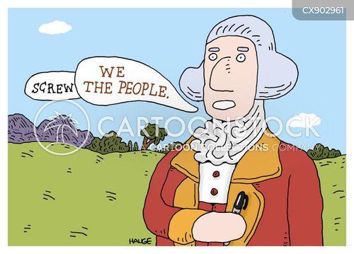 american revolutionary war cartoon