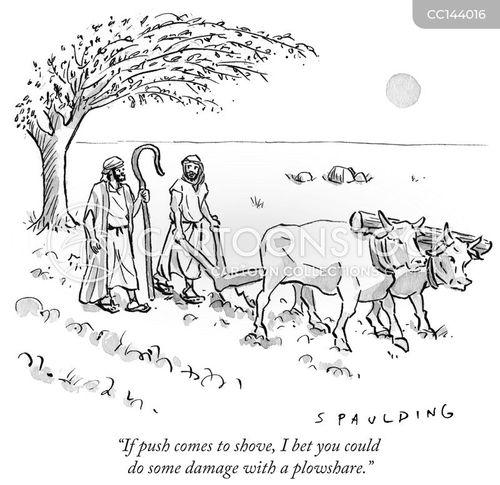plowshare cartoon