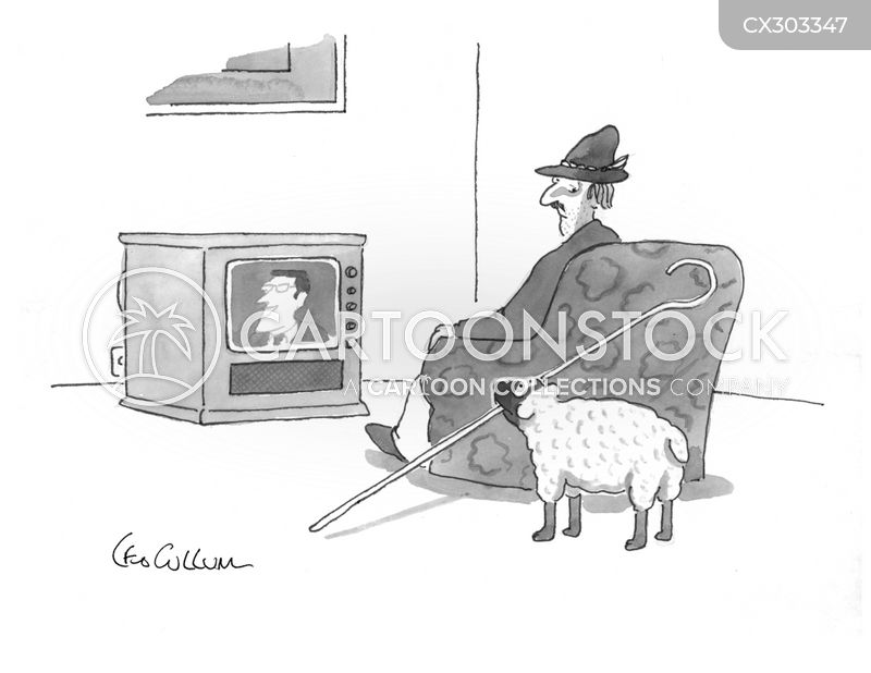 shepherds cartoon