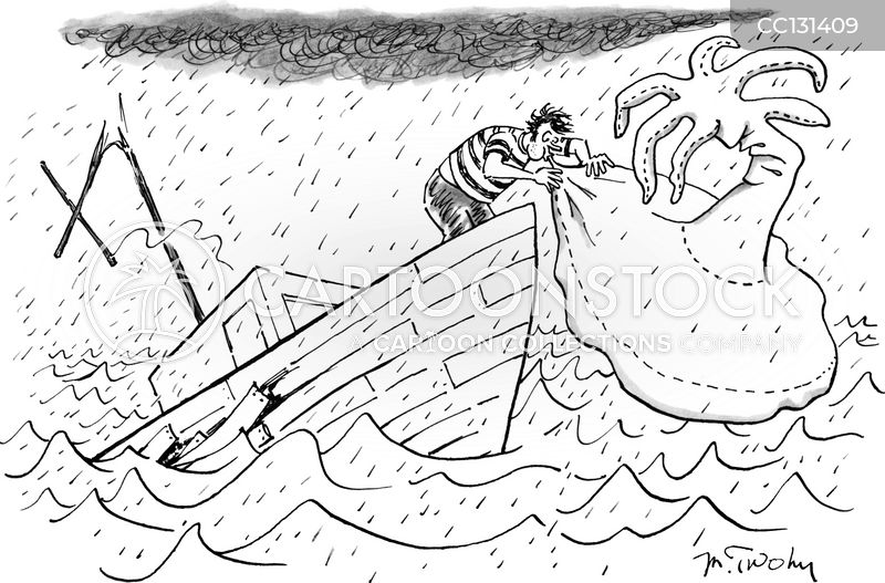 lifeboats cartoon