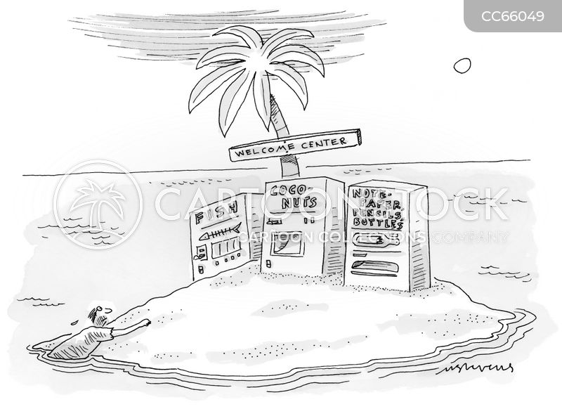 vending machines cartoon