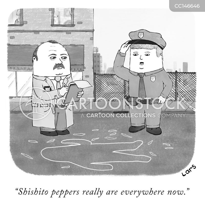 peppers cartoon