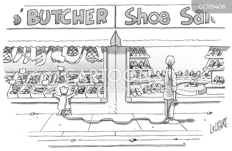 butch shops cartoon