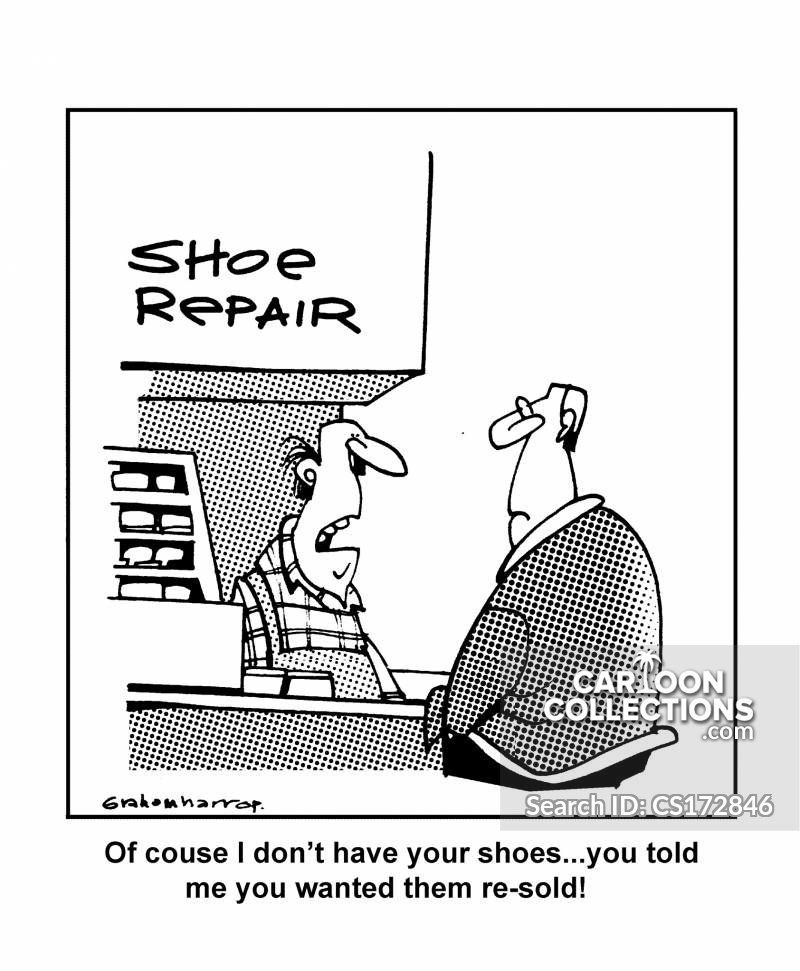 Cobbler cartoon