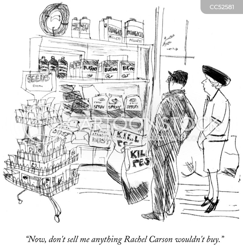 weed killer cartoon