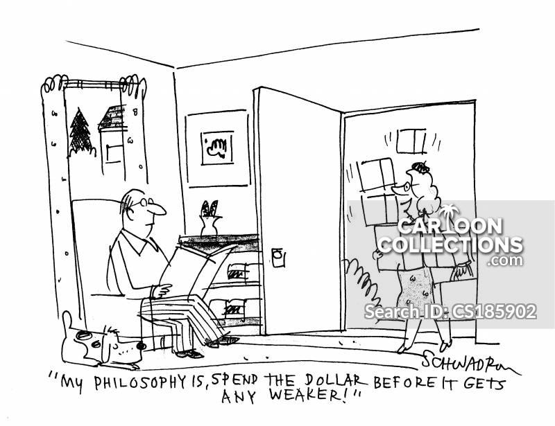 consumerist society cartoon