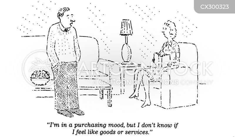 purchase cartoon