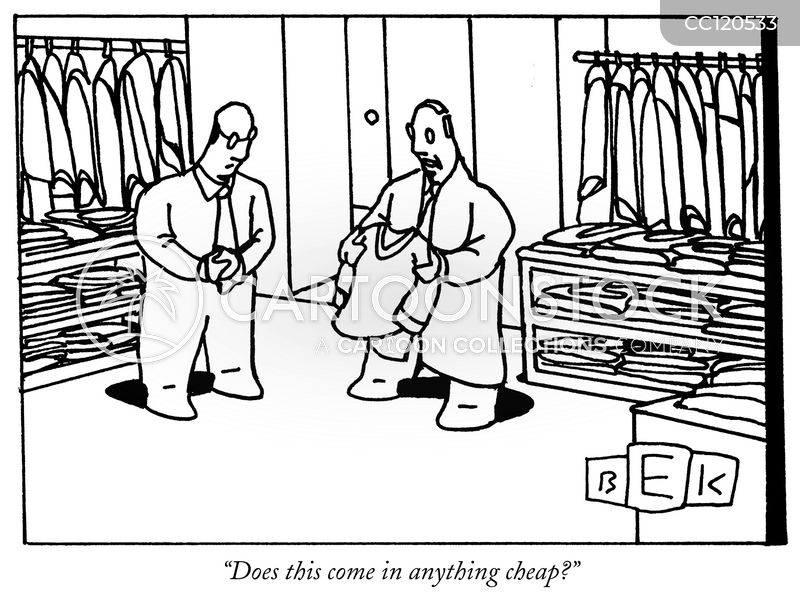 clothes stores cartoon