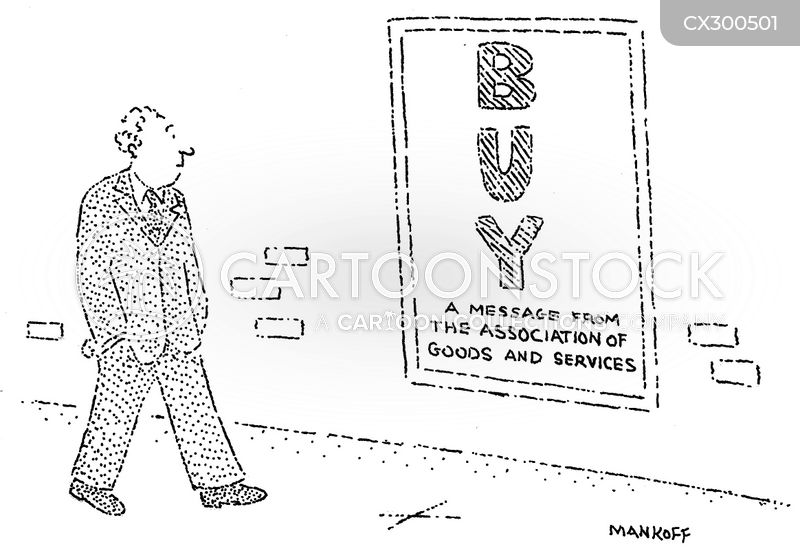 consumer behaviour cartoon