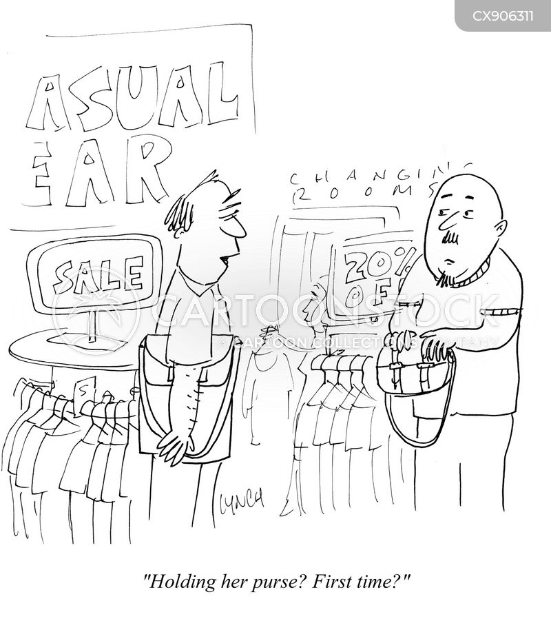 changing rooms cartoon