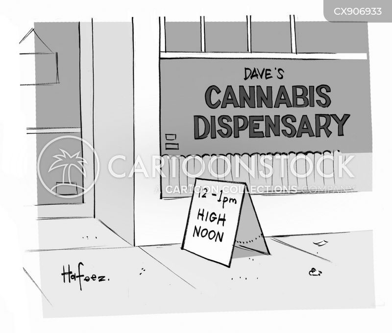 illegal substance cartoon