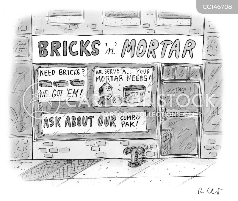 high streets cartoon