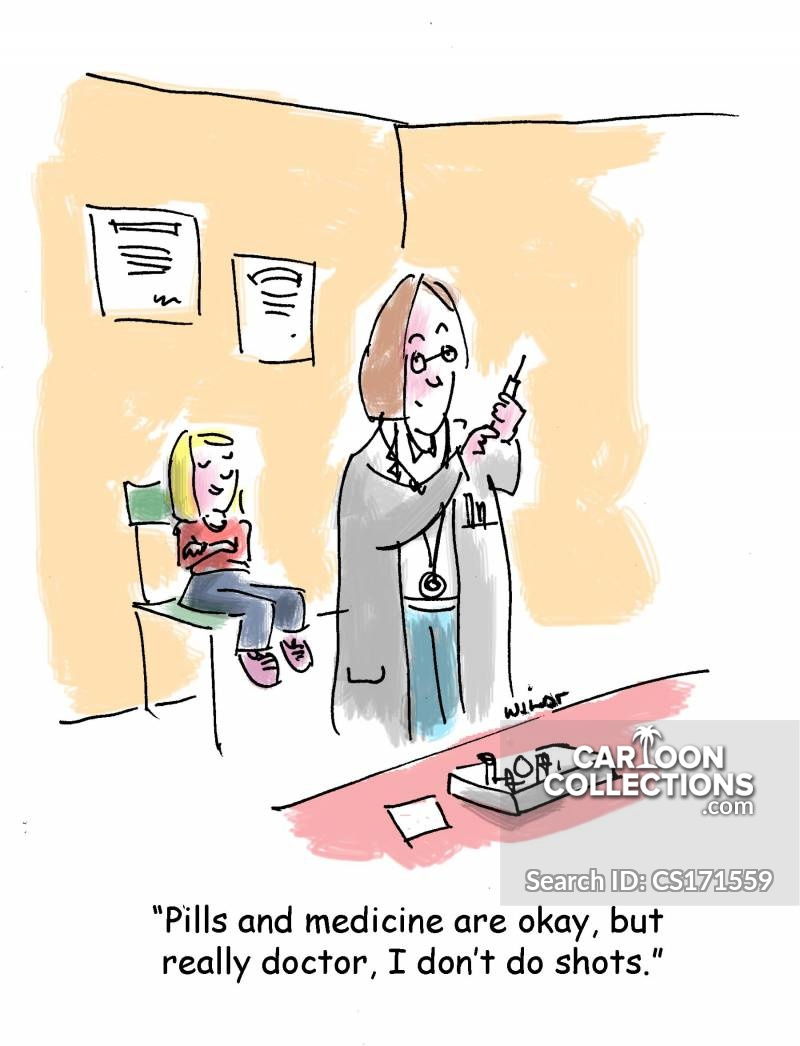Injection Cartoons