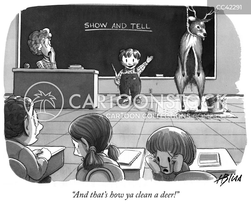 school cartoon
