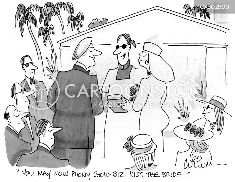 show-biz cartoon