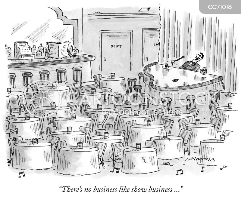 show business cartoon