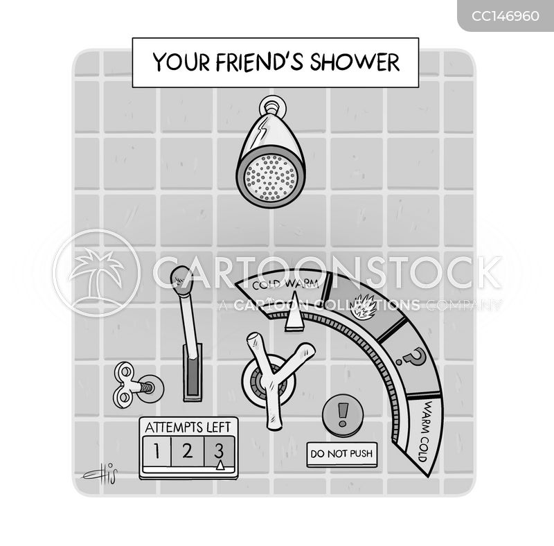 showers cartoon