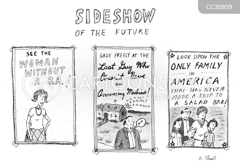 sideshow cartoon