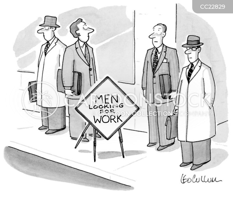 Job Hunts cartoon