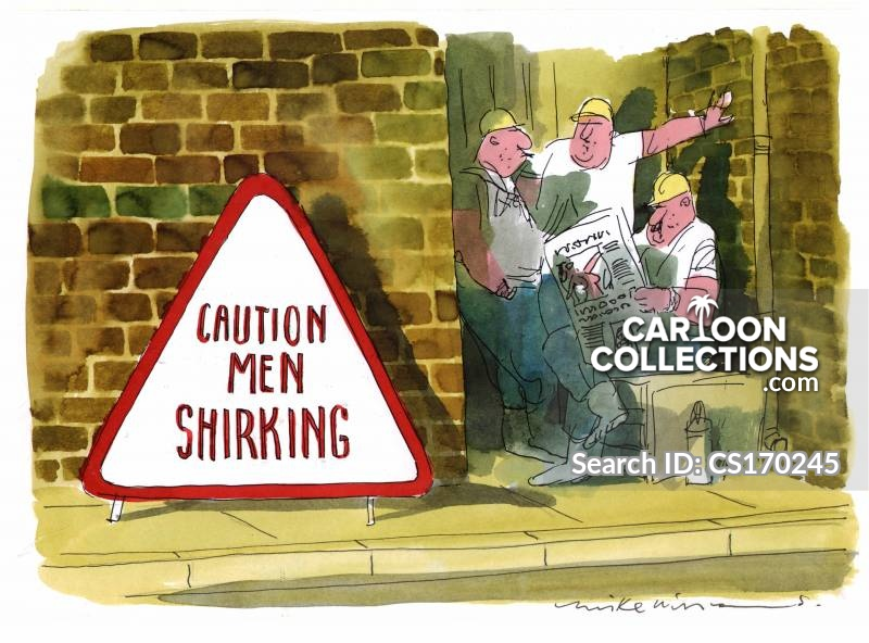 road sign construction cartoon