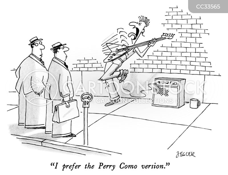 street performers cartoon