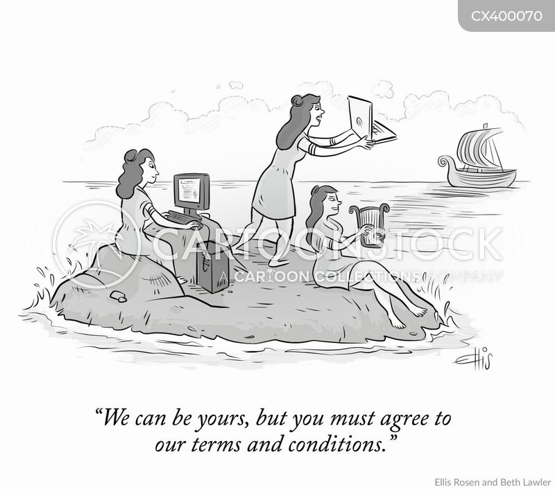 sirens cartoon