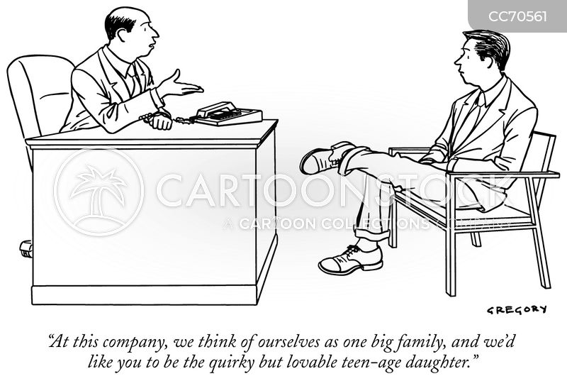 working relationship cartoon