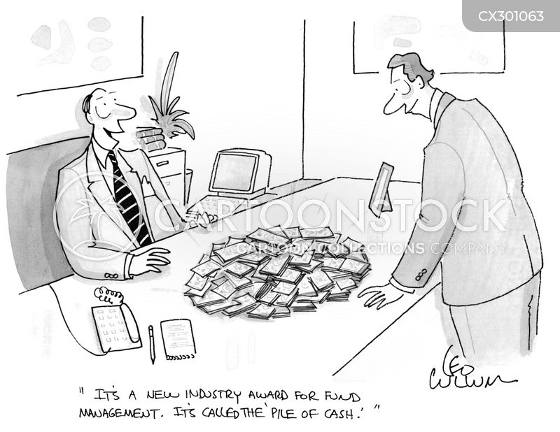 Investment Management cartoon