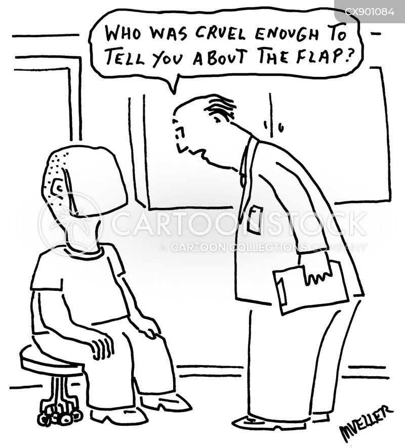 plastic surgeons cartoon