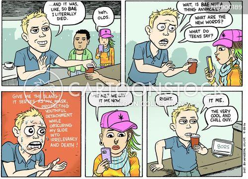 teens cartoon