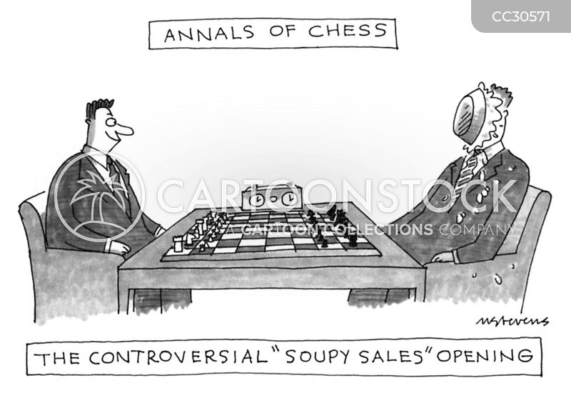 strategy cartoon