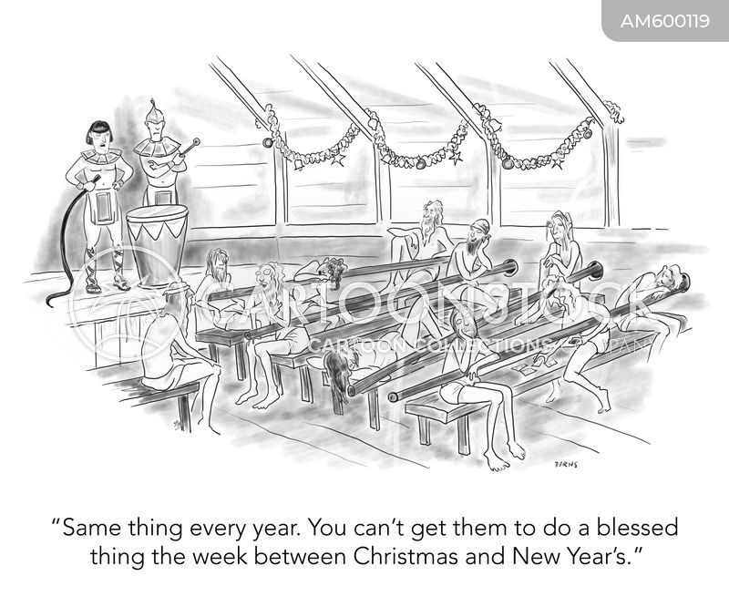 new years day cartoon