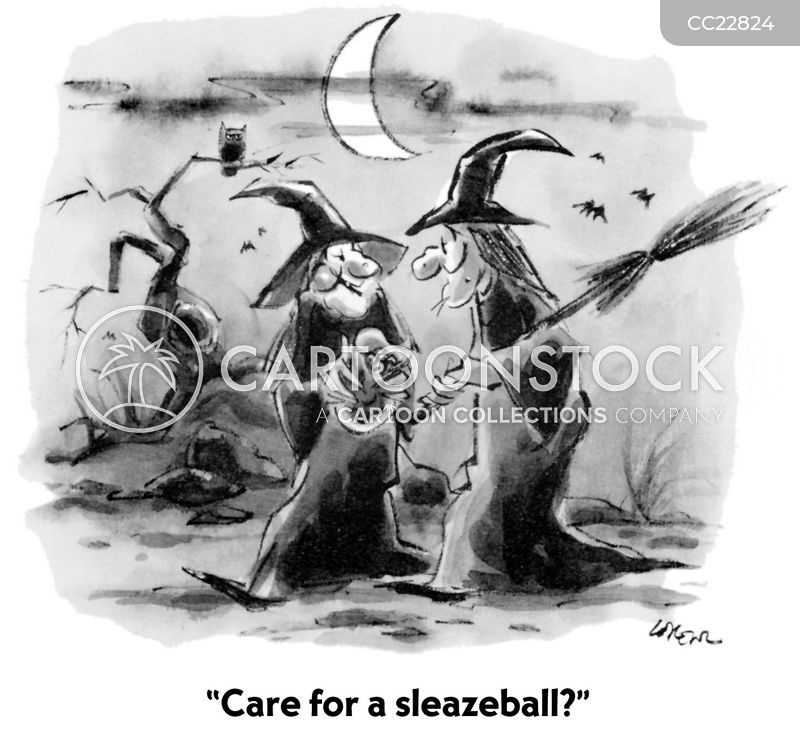 sleazeball cartoon