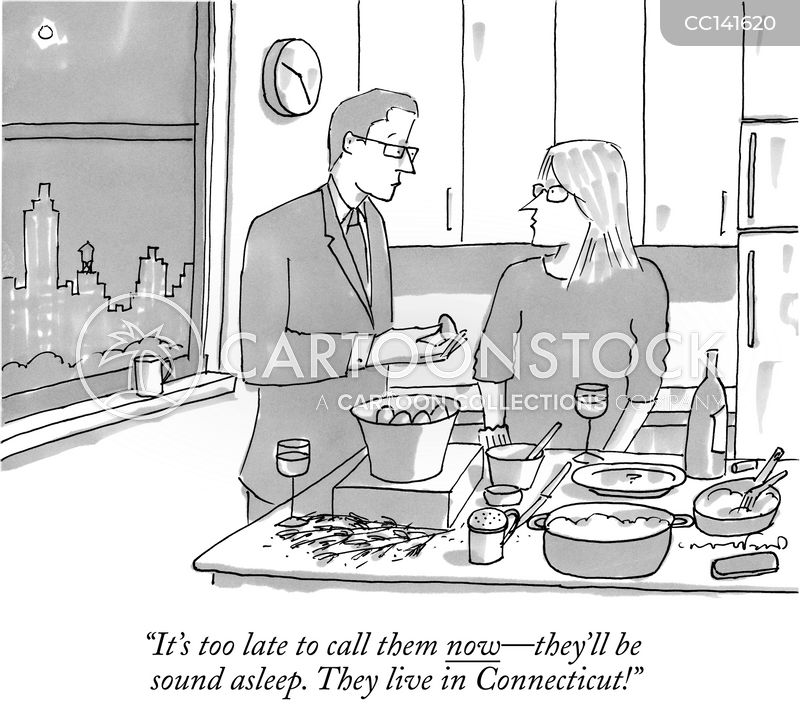 etiquette cartoon