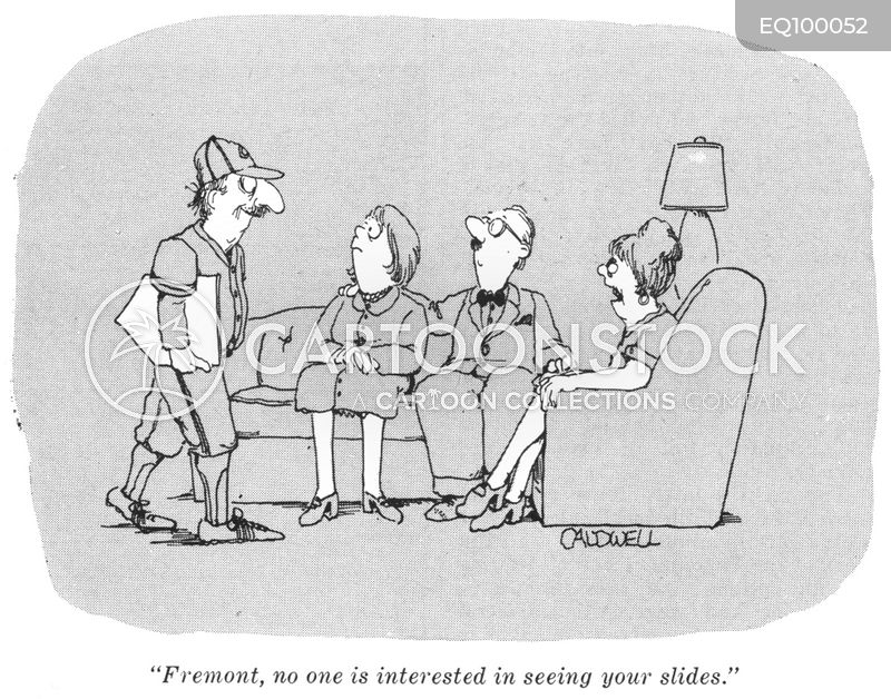 dinner parties cartoon