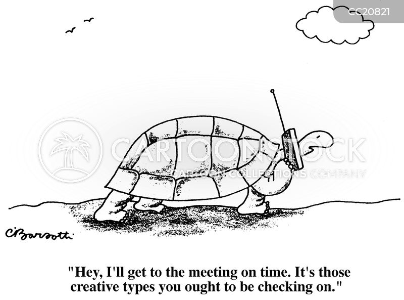 the hare and the tortoise cartoon