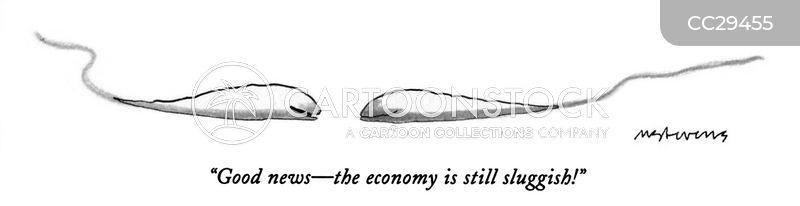 economic crash cartoon