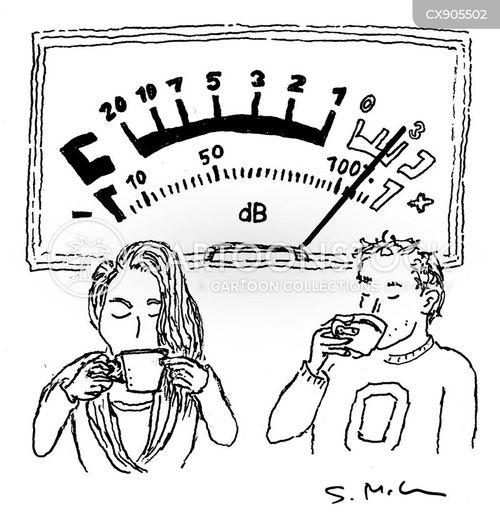 loudly cartoon