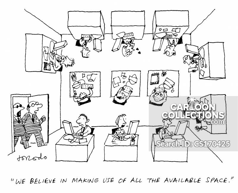 office tour cartoon