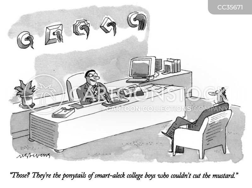 smart alec cartoon