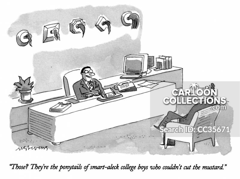 competitive work environment cartoon