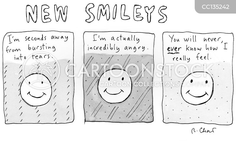 Emotions cartoon