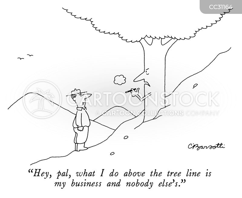 hiking cartoon