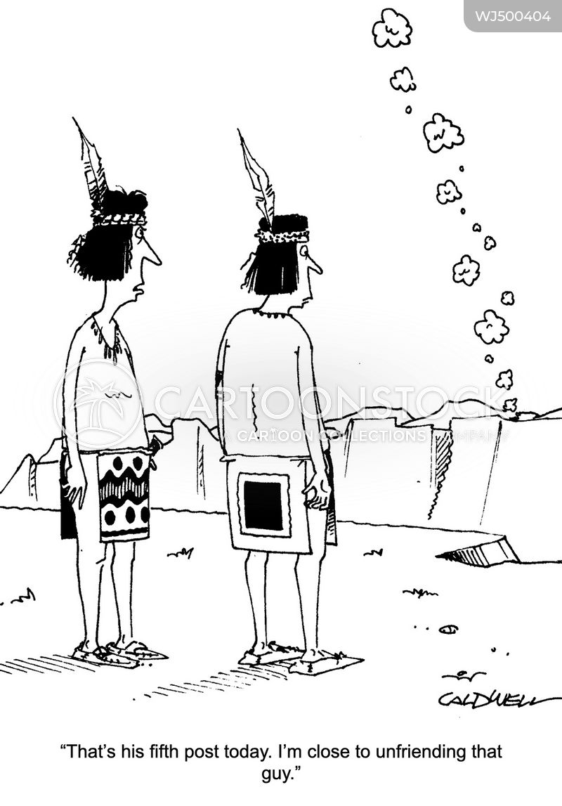 smoke signal cartoon
